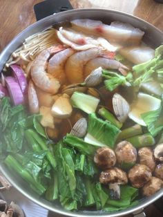 Healthy hot pot.