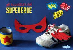 Quandofuoripiove: maschere di carnevale fai-da-te per quel supereroe di mio figlio