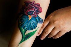 Iris flower tattoo - sheilaburgos.com