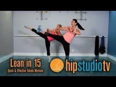 ▶ Killer HIIT Legs & Abs | 15 Minutes Tabata Workout | HIP Studio | Hermosa Beach Pilates Studio |