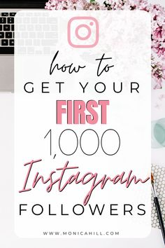 How to get your first 1000 followers on Instagram by Monica Hill Instagram Strategist | Getting your first followers on Instagram can feel overwhelming, but these simple Instagram strategies will help you grow your Instagram account with ease. For more Instagram tips, Instagram hashtags, Instagram story ideas, Instagram story templates, influencer marketing, and my hashtag course, read monicahill.com #instagram #socialmedia #influencer #ig #followers #engagement #monicahill…