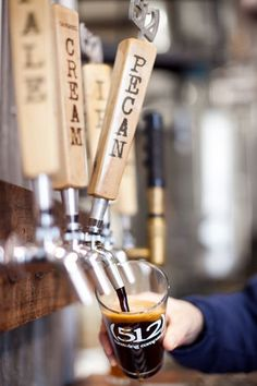 (512) Brewing Company - a microbrewery located in the heart of Austin, TX uses local, domestic and organic ingredients.