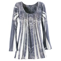 Silver Medallion Top - New Age, Spiritual Gifts, Yoga, Wicca, Gothic, Reiki, Celtic, Crystal, Tarot at Pyramid Collection