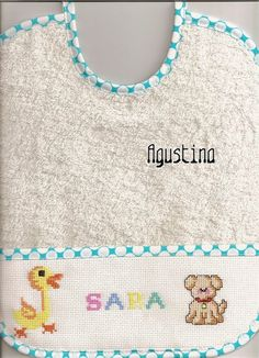 Hobbies And Crafts, Cross Stitch Embroidery, Scrappy Quilts, Aprons, Bib Pattern, Napkin
