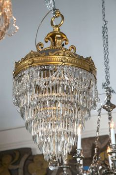 Pair of Bronze and Crystal Drop Chandeliers Baccarat Chandelier, Round Chandelier, Chandelier For Sale, Outdoor Chandelier, Baccarat Crystal, Bronze Chandelier, Antique Chandelier, Chandelier Shades, Chandelier Pendant Lights