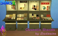 Cosmetic Stands at Ladesire via Sims 4 Updates