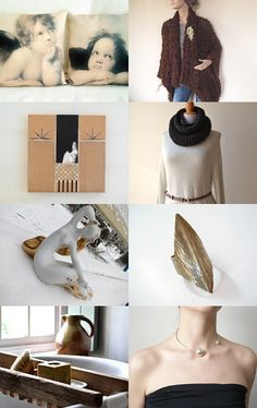 Brown.Gifts. by Ilona on Etsy--Pinned+with+TreasuryPin.com
