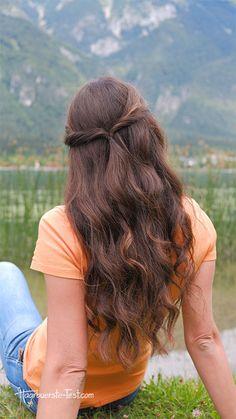 Frisuren mit haaren coole offenen Frisuren mit