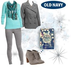 """""""Style That Sweater with Old Navy"""" by casuality on Polyvore"""