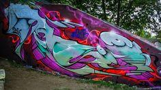 Bad Cannstatt, Hall of Fame  Artist: Jeroo #StreetArt #落書き #ArteCallejero #ストリートアート #art de rue #Straßenkunst 😚🎨 - https://wp.me/p7Gh1Z-29u #kunst #art #arte #sztuka #ਕਲਾ #konst #τέχνη #アート