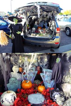 Trunk or Treat decor-Trunk or Treat decorating ideas-Trunk or Treat ideas-Our Trunk for Trunk or Treat-Trunk or Treat 2013-Trunk or Treat decorations. #TrunkorTreat