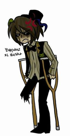 (Open RP I'm Goldie) Stupid leg is missing!! Don't laugh cuz this is to scare the crap out of you not make you laugh!