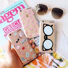 & que comece a terça-feira! {cases: compartilhe amor flamingos rosa e óculos gatinho}  [FRETE GRÁTIS A PARTIE DE DUAS GOCASES]  #gocasebr #instagood #iphonecase #phonecase #nahgocase #flamingos #sunglasses #patches #voudegocase