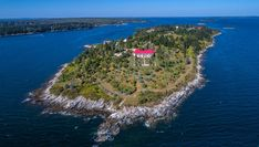 Location: Hope Island, Chebeague Island, Maine Price: $7,950,000 Bed/Baths: 3 bedrooms and 6 full bathrooms Sq. Footage: 11,658 Lot Size: 86 acres Listing