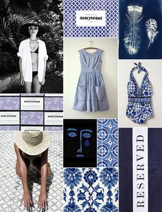 """nanettelepore: """"Monochromatic By Camille Styles Shop the Saint Etienne Seductress """" Things That Go Together, Pretty Room, Color Inspiration, Inspiration Boards, Denim And Lace, Color Stories, Color Of Life, Fashion Story, Color Theory"""