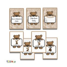 Baby Milestone Cards 34 Printable Baby Moment Cards Baby