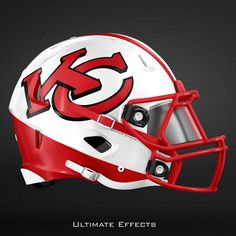 Designer Creates Awesome Concept Helmets For All 32 NFL Teams (PICS) Watch NFL football games on any device. New Nfl Helmets, Football Helmet Design, College Football Helmets, Nfl Football Players, Kansas City Chiefs Football, Nfl Football Teams, Football Pics, Football Memes, Longhorns Football