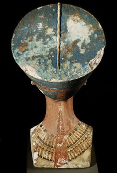 Back View of the Bust of Nefertiti