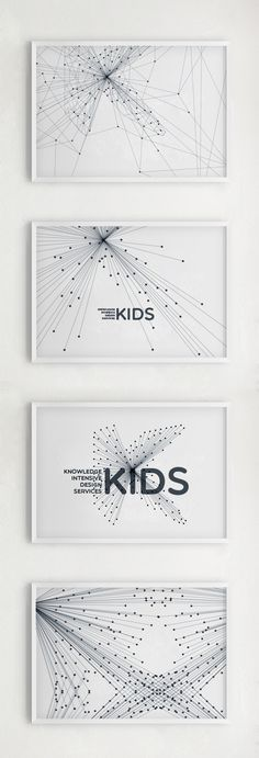 Anais Contant – Visual identity system for KIDS / Knowledge Intensive Design Services