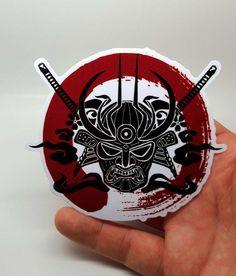 Samurai Enso Blood Circle Sticker , Sticker - A Vol d'Oiseau, A Vol d'Oiseau Get A Tattoo, Tattoo Shop, Back Tattoo, Tattoo Art, Tatuagem Trash Polka, Sketchy Tattoo, Samurai Tattoo, Large Tattoos, Japanese Patterns