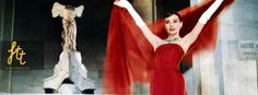 Funny Face (1957) : Jo (Audrey Hepburn) falls in modeling by sheer luck in #funny #face. An employee of an intellectual library, which has no interest in the world of images presenting and until a #photographer (Fred Astaire) decides he has the perfect look for a new campaign. She was sent to #Paris for a photo shoot with stunningly beautiful #dresses and #romantic scenery.