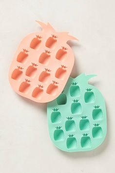 Pineapple Ice Trays. Cute!