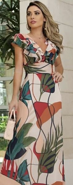 Cute Dresses For Teens, Pretty Dresses, Beautiful Dresses, Casual Dresses, Dresses For Work, Elegant Summer Outfits, Summer Dresses, Indian Designer Outfits, Designer Dresses