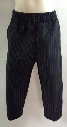 18 months Boy Phat Farm Black White Pin Stripe church birthday photo dress pants #PhatFarm #DressPants #DressyEveryday