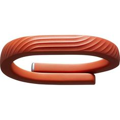 Jawbone - UP24 Wristband (Small) - Persimmon - Larger Front