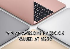 Want to own a 12-inch Apple MacBook? Check out this awesome giveaway by @magsive401 and Appz That Rock. Hurry, this giveaway will end on May 29, 2016. More details here: www.i-heart-contest.com/win-an-awesome-macbook-valued-at-1299. Good luck! Giveaways, Computer Mouse, Macbook, Apple, Rock, Heart, Awesome, Pc Mouse, Apple Fruit