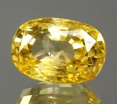 6.11-carat Splendid Natural Golden Yellow sapphire Unheated Untreated Loose gems #Unbranded