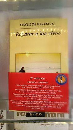 """""""Reparar a los vivos"""" de Maylis de Kerangal. Anagrama."""