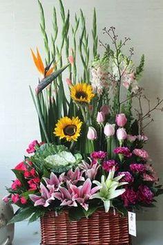 高档生日花篮_360图片 Funeral Flower Arrangements, Ikebana Flower Arrangement, Floral Arrangements, Church Flowers, Funeral Flowers, Wedding Flowers, Backyard Wedding Decorations, Flower Decorations, Dry Fruit Box