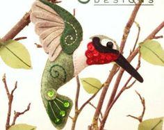 Bluebird le patron PDF oiseau de basse-cour par SquishyCuteDesigns