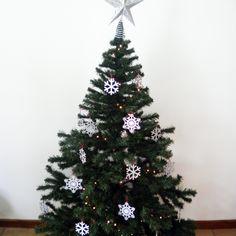 #Copo de #Nieve #SnowFlake #Navidad #Decoración — Cutefy.com