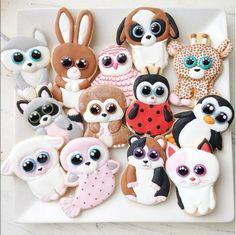 Beanie Boo cookies