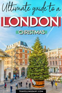 All the best things to do in London at Christmas: an easy to use travel guide! Click to find the best London Christmas lights, what to do in December, where to get the instagrammable spots and the best Christmas tea! London Christmas, Christmas Travel, Christmas Tea, Christmas Lights, Dublin Travel, Ireland Travel, London Travel, Scotland Travel Guide, Travel Around Europe