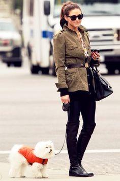 Style Crush: Olivia Palermo (Co-starring Mr. Butler) | Sand Sun & Messy Buns #fallfashion #oliviapalermo #styletips