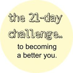 Takes 21 days to make a habit out of something. Work on one of these every 21 days for 6 months. :)