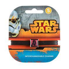 Roxo Star Wars Line Art Darth Vader 1 Charm Band @ niftywarehouse.com #NiftyWarehouse #Geek #Products #StarWars #Movies #Film