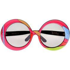 1960's Emilio Pucci Sunglasses -- mine were shaped like this but were white