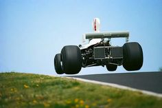 1975 German GP, Nurburgring : James Hunt, Hesketh 308B, Hesketh Racing), Retired. (ph: en.espn.co.uk)
