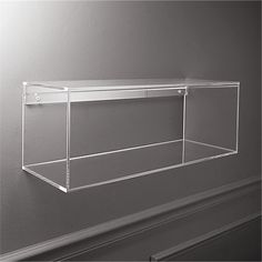 lucite shelf + Reviews | CB2