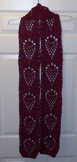 SmoothFox's Pineapple Scarf (free pattern)