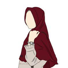 Painting girl fashion drawings New ideas Muslim Girls, Muslim Couples, Muslim Women, Anime Muslim, Muslim Hijab, Niqab Fashion, Girl Fashion, Muslim Pictures, Islamic Images
