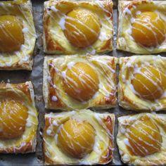 Rezept Spiegeleier (Quark-Pfirsich-Teilchen) von sabri - Rezept der Kategorie Backen süß