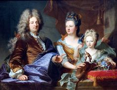 Hyacinthe Rigaud - Jean le Juge and his family, 1699