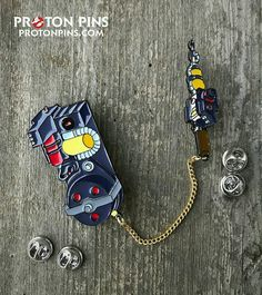 """867 Likes, 22 Comments - Ghostbusters.net (@ghostbustersnet) on Instagram: """"Reposting @protonpins. """"Wear our """"Real Ghostbusters"""" Proton Pack pin anyway you want! The flexible…"""""""