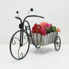 Подставка для цветов Велосипед 1 мал Кантри - Подставки под цветы Кантри - MON-BON