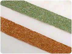 Instant Craftification : DIY Glittered Washi Tape